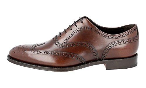 Leather 2EB127 Brogue Prada Men's Shoes Business Full nI81qZIx6O