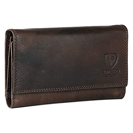 Ladies Designer Rfid Safe Protection Luxury Quality Vintage Real Leather Purse Multi Credit Card Women Clutch Wallet With Zip Coin Pocket 41JhLT4hGfL