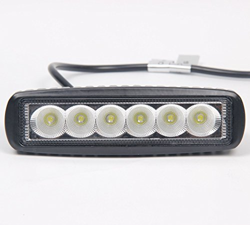 High Power 200w 20 Inch Jeep Accessories Led Light Bar For: Signstek 18W CREE LED Flood Light Headlight Work Light