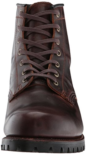 FRYE Men's Addison Lug Lace up Ankle Bootie Dark Brown cheap sale wide range of xZXy6Dgu