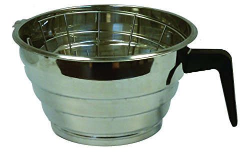 Bloomfield 8707-6 Brew Basket for Decanter Brewers, Stainless Steel