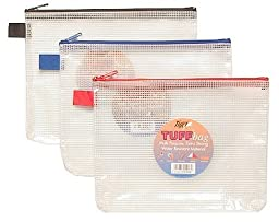 Tiger Stationery A5 (22 X 18Cm) Tiger Tuff Bag Heavy Duty Strong Waterproof Multi-Purpose