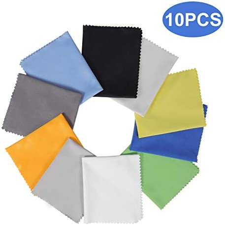 Assorted Colors Microfiber Cleaning Cloths product image