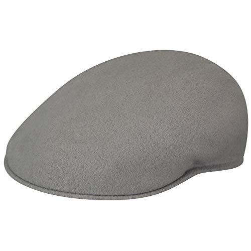(Kangol Men's Classic Wool 504 Cap, Our Most Iconic Shape, Ether (Small))