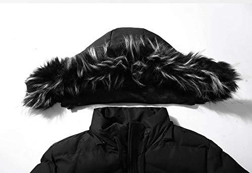 Jacket Multicolor Fur Coat Velvet Plus Men's Jacket Designer Hooded Green Warm Long Thick Coat Jacket Parker Coat Down Outdoor Windbreaker Moxishop Quilted Faux Jacket Winter New wP18Aqz