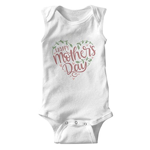 (epoyseretrtgty Sleeveless Newborn Mothers Milks Tea Funny Onesie)