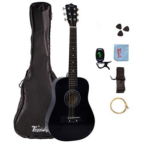 30 inch 1 2 half size children beginner steel string acoustic guitar package ebay. Black Bedroom Furniture Sets. Home Design Ideas