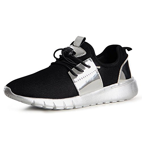 topschuhe24 Women's Trainers black silver