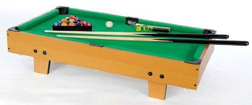 Mini - accesorios para mesa de billar incl., como tamaño 92 x 52 x 20 cm de apoyo, ideal para grandes y pequeños WinSport