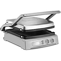 Cuisinart GR-150 Griddler Deluxe, Brushed Stainless