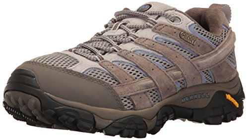 Merrell Women's Moab 2 Waterproof Hiking Shoe, Falcon, 9 M US