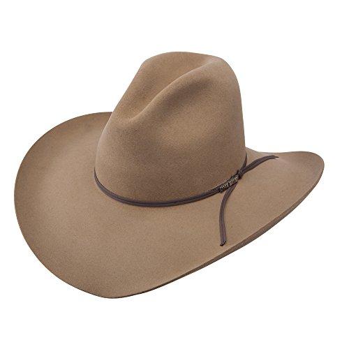 Resistol Western Hat (Resistol RWPMKR-6340 Peacemaker Hat, Stone - 7 1/4)