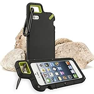 RC - Outdoor Mountaineering Drop Resistance Case for iPhone 5/5S (Assorted Colors) , Green