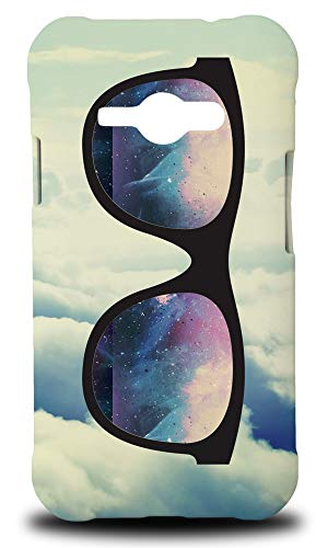 e Glasses #17 Hard Phone Case Cover for Samsung Galaxy J1 Ace ()