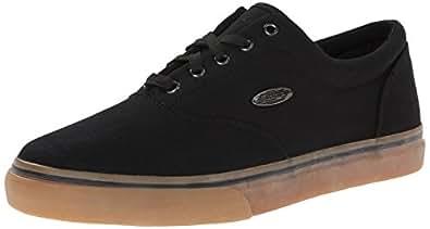 Lugz Men's Vet Fashion Sneaker, Black/Gum, 7.5 D US