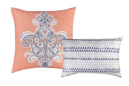 Baltic Linen Henna Decorative Pillow Set Multicolor [並行輸入品] B07RBD9XTC