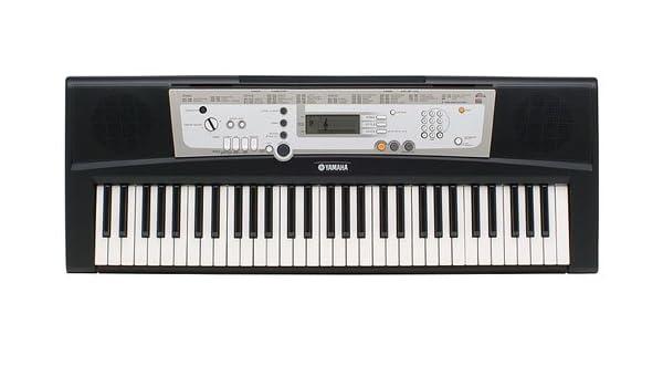 Amazon.com: Yamaha PSR-E203 Portable 61 Key Electronic Keyboard: Musical Instruments