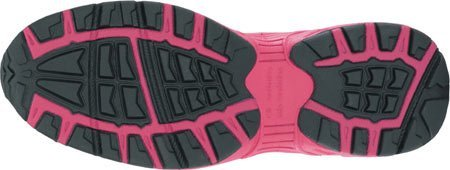 B482 Womens Black/Pink EH Steel Toe Athletic Cross Trainer Shoes ()