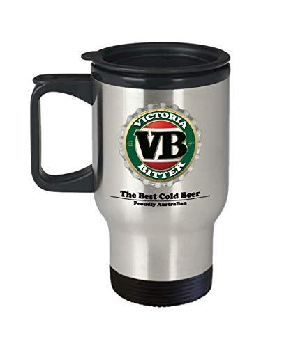 VB Victoria Bitter Travel Mug
