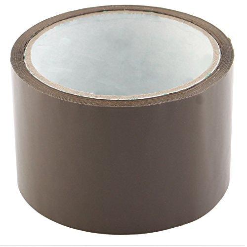 eDealMax Expdition industrielle, PVC, bote de Rangement, d'tanchit, Parcels Ruban adhsif, 2,4 pouces x 32,8 Yards, Couleur caf