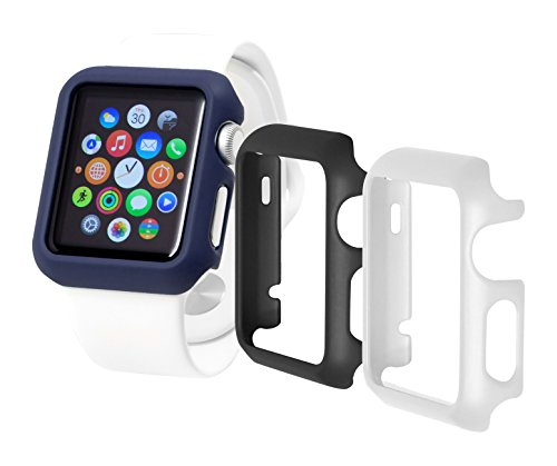 TRIDENT Odyssey Guard for Apple Watch 42 mm, 3 Pack - Multicolored (Audio Trident)