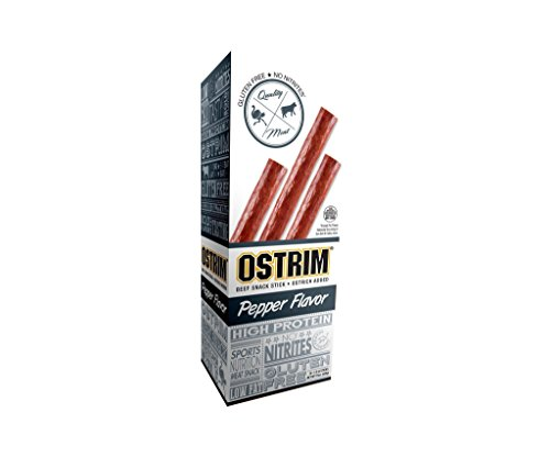OSTRIM Beef & Ostrich Snack Sticks - Pepper