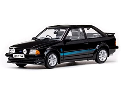 1984 Ford Escort RS Turbo Black 1/18 by Sunstar 4962R