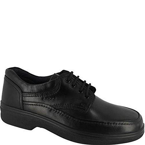 Ambre Mens Classic Lace Shoe Black Black b2S3Gv9L