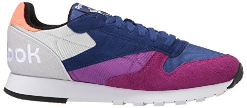 Cobalt Grey Reebok Sneaker Men WB Aubergine Leather Skull Fashion Deep White Guava CL 44a1wqxT8