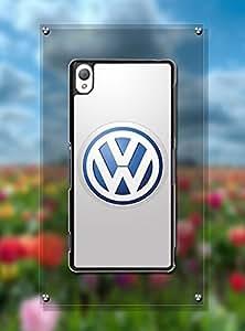 Xperia Z3 Funda Case Car Logo Volkswagen - Customized Design Drop Protection Slim Sony Xperia Z3 Back Funda Case Cover For Guys (Just Fit For Z3)