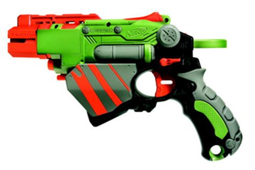 Image is loading NERF-VIGILON-Vortex-Disc-Dart-Gun-w-21-