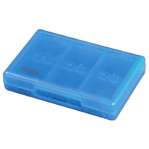 Hama Game Case für 22 Spiele und 2 Speicherkarten, für Nintendo New 3DS/XL, 3DS/ XL, 2DS, DSi/ XL und DS-Spiele, Blau