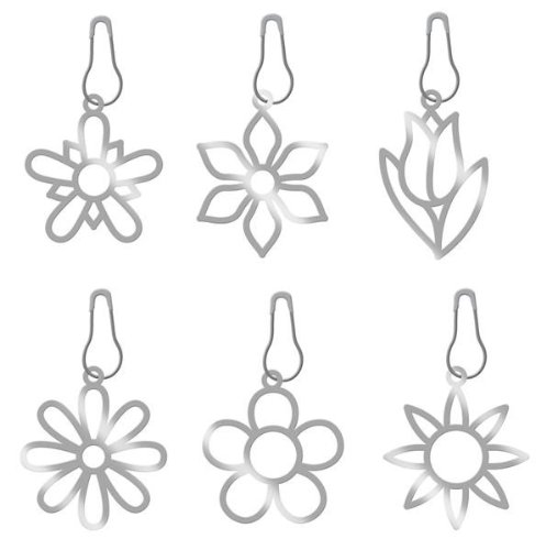 KAREN FOSTER Design Scrapbooking Bloomin Metal Charms, 12 x 12 ()