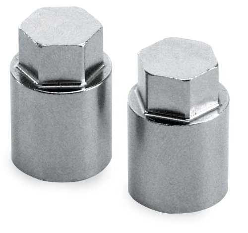 Chrome Cylinder Base Nuts - S&S Cycle Nut,Cylinder Base,HH,7/16-20 UNF-2B x .910
