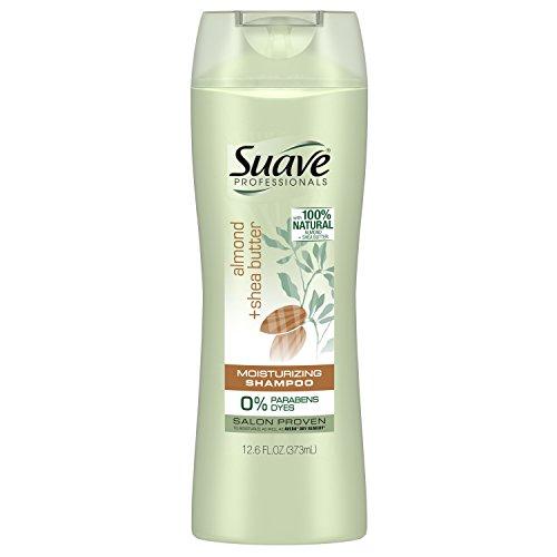 Suave Professionals Moisturizing Shampoo, Almond + Shea Butter, 12.6 oz