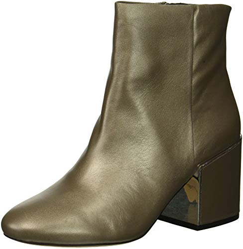 York Reeve Women's Heel Boot Cole Ankle Bootie 2 New Block Grey Kenneth UZxCEnwqw