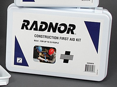 Radnor 64058028 25 Person Bulk Construction First Aid Kit by Radnor