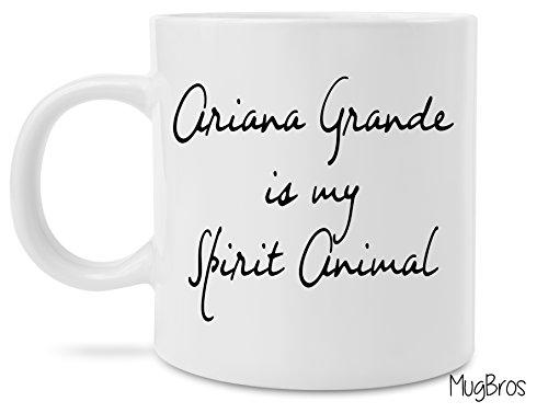 Funny Ariana Grande is my Spirit Animal Coffee Mug Novelty Gift Jay Z Beyonce Gift