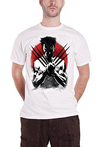 Wolverine Japan Art Official Mens New White T Shirt