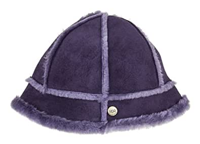 UGG Australia Womens Bucket Hat Purple Velvet