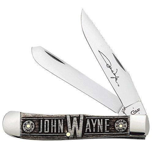 W.R. Case & Sons Cutlery John Wayne Folding Commemorative Knife, Large