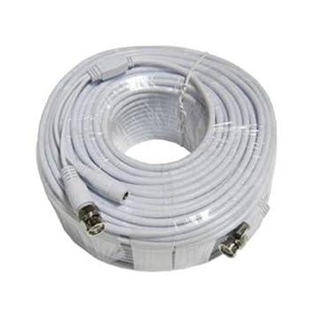 Q-See qsvrg200 PWR CABLE COAXIAL de video Video y Cable de alimentación * Q