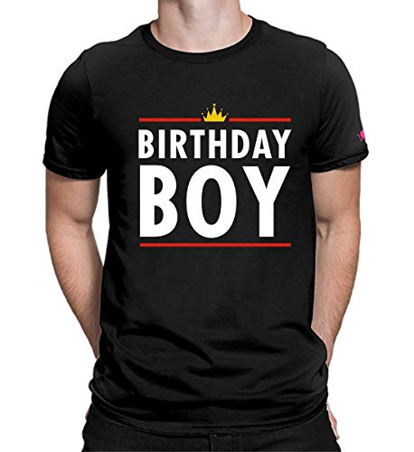 PrintOctopus Graphic Printed T-Shirt for Men | Birthday Boy T-Shirt | Birthday T-Shirt | King T-Shirt | Legends T-Shirt | Half Sleeve T-Shirt | Round Neck T Shirt | 100% Cotton T-Shirt | Short Sleeve T shirt
