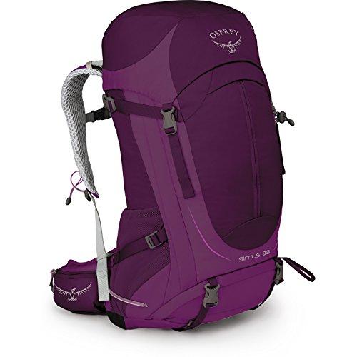 Osprey Packs Sirrus 36 Womens Backpack, Ruska Purple, Ws/M, Small/Medium