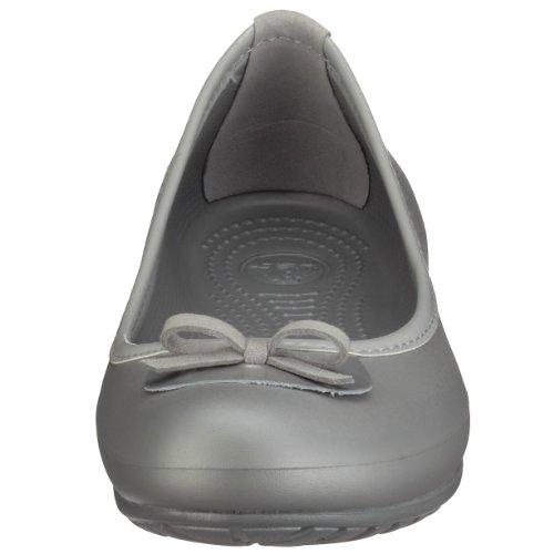 Crocs Womens Lily Chaussures À Enfiler Argent / Argent