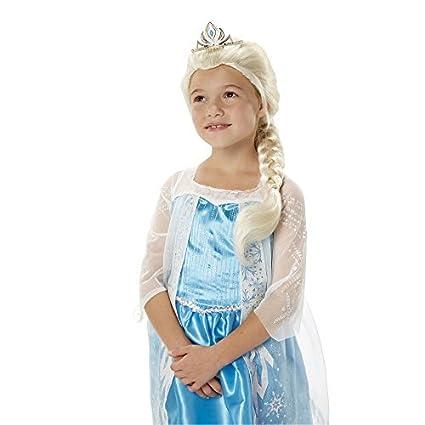 Tiara y trenza de Disney Frozen Elsa