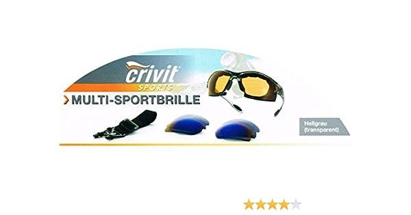 Gafas de sol Multi Sport Gafas Funcional, Hellgrau-Transparent: Amazon.es: Deportes y aire libre