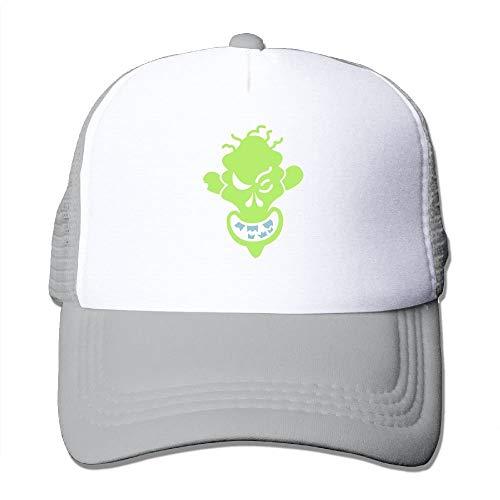 YYERINX Naughty Halloween Zombie Big Foam Snapback Hats Mesh Back Adjustable Cap]()