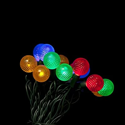 Multi Color G25 LED Christmas lights 12.5ft. - G25 Multi Color Globe light strings