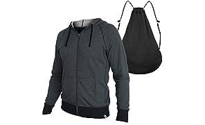 Quikflip Hero Hoodie (Convertible Full-Zip Hoodie Backpack)